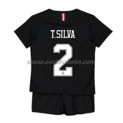 Paris Saint Germain PSG Voetbaltenue Kind 2019-20 T. Silva 2 Third Shirt..